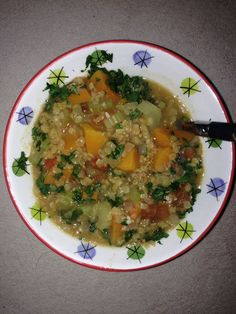 Lentil and butternut squash stew Step 2