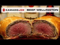 If you want to really impress your friends and family with a superb meal that isn't your everyday run-of-the-mill holiday dinner, try this beef wellington on. Bbq Grill, Grilling, Joe Beef, Kamado Joe, Beef Wellington, Beef Tenderloin, Holiday Dinner, Pork, Meals