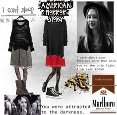 """Violet Harmon"" by marley-max ❤ liked on Polyvore"