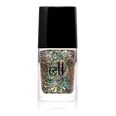 elf Essential Glitter Nail Polish - Chic Confetti... It is a Beautiful Combination of Colors!