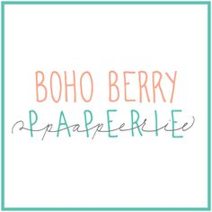 Boho Berry Paperie is Now Open! I have been asked time and time again if I would ever consider creating stickers and printables from some of the designs in my Bullet Journal, and I'm happy to announce that YES… it's finally happening! If you'd like to get the latest updates on the shop, be sureRead more