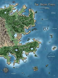 Argonessen continent of the world of eberron httpsharnwdfiles the razor coast by sean macdonald frog god games gumiabroncs Choice Image