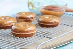 Caramel Glazed Donuts
