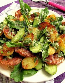 Salad Recipes, Healthy Recipes, South Beach Diet, Good Food, Yummy Food, Lunch To Go, Finger Foods, I Foods, Salads