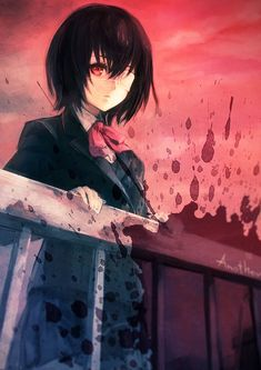 Tags: Anime, Fanart, Pixiv, Fanart From Pixiv, Another
