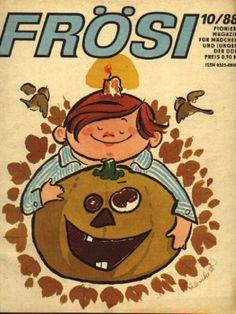 FRÖSI ist eine Kinderzeitschrift, die in der DDR im Verlag Junge Welt publiziert wurde