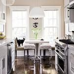 Ideal small contemporary kitchen. Love it.