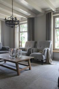 Interieurprojecten - Frieda Dorresteijn Gray Interior, Interior Styling, Interior Design, Modern Country, Living Room Inspiration, Family Room, Sweet Home, New Homes, House Design