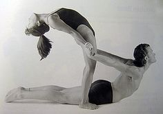 lots of partner yoga poses on this site