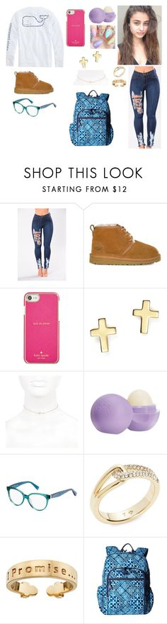 """Vines"" by divinemaboundou ❤ liked on Polyvore featuring Vineyard Vines, UGG, Kate Spade, Bloomingdale's, River Island, Eos, Max&Co., I Promise by Karen R. and Vera Bradley"