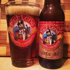 Gaelic Ale by Highland Brewing Company