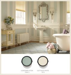 Look at some of the classic colors used in traditional Southern-style homes and how you can get them from BEHR, here on Colorfully BEHR.