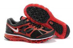 Nike Air Max 2012 Black Red Sneakers