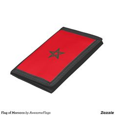 Flag of Morocco Trifold Wallets