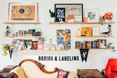Studio Tour: The Boxing & Labeling Department at The Pencil Factory | Design*Sponge