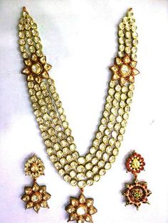 History of Kundan Jewellery From 1526 to 1858, Kundan jewelry has made a royal mark in India's history. It started out in the North, specificially in Rajasthan. Its southern counterpart was in Hyderabad. Kundan soon diversified to the rest of the nation. The bold and detailed artisanship of Kundan jewelry is essentially hand crafted, setting precious stones inside gold foil and other gold molds. The very word 'Kundan' refers to refined gold in pure molten form.