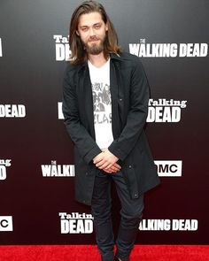 """277 Likes, 5 Comments - Celebrity Crush (@celebcrushhh) on Instagram: """"Tom Payne at #TWD event on October 23, 2016 in Hollywood, California.  #thewalkingdead #twd…"""""""