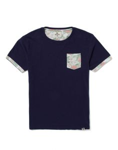 Bellfield Luis T Shirt with Printed Pocket Man Clothes, Love Craft, Guy Stuff, Heritage Brands, Surf, Mens Fashion, Pocket, My Style, Printed