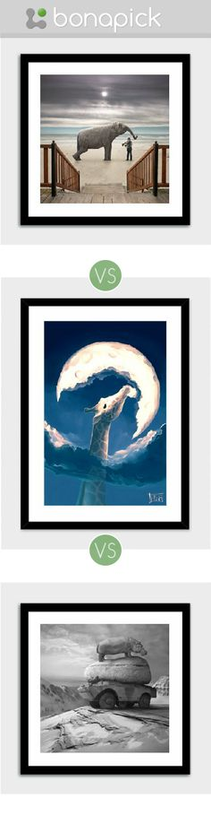 Which Art Print is better to buy to decor my living room? #Bonapick .com
