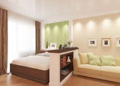 зонирование спальни и гостиной - Поиск в Google