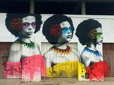Bolivar, Colombia: nuovo pezzo dello street artist Fin DAC.