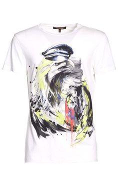 Men's t-shirt Men - Tops Men on Roberto Cavalli Online Store
