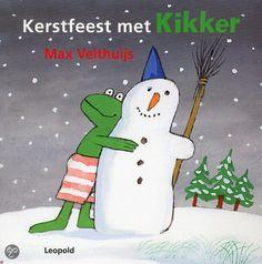 Kerstfeest met kikker - Max Velthuijs - #prentenboeken #Kertmis - plaatsnr. K VELT/016