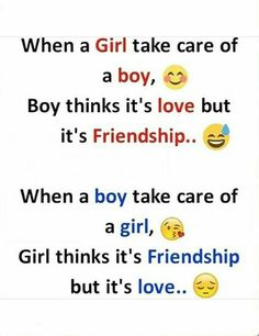 😜😜😜 no matter what girl always think it's friendship. Crazy Girl Quotes, Real Life Quotes, Bff Quotes, Best Friend Quotes, Reality Quotes, Attitude Quotes, Friendship Quotes, Relationship Quotes, Funny Quotes