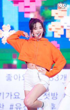 Yu Jin, Japanese Names, Japanese Girl Group, Kpop, Starship Entertainment, The Wiz, Bias Wrecker, White Jeans, Rapper