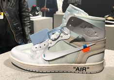 Off-White Air Jordan 1 White AQ0818-100 2018 - Sneaker Bar Detroit Air fc62ea6d3