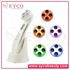 *LED (Light Emitting Diode): Promotes the regeneration of the collagen,increases the skin elasticity, suitable for the slack&wrinkly skin.Inhibits the growth of melanin,Solutes the pigmentation,freckles, sun spots&age spots.Improves the overall skin color.Kill baterial & promote the blood circulation.Anti-flamination.Stimulate lymphatic & the nervours system to relax and restore the balanced sensitive skin.Strengthen the absorption of the beauty essences, Whiten skin, suitable f