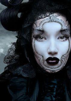 Beautiful Make-up Mask! Lovely image!