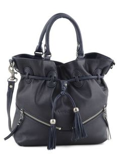 82686028b1 Cart your stuff in style <3 Sac Lancaster, Sac À Main, Fringues,