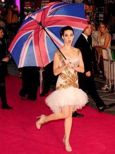 Katy Perry enflamme la capitale British