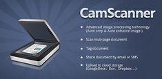 CamScanner,  una aplicación que va a hacer no solo que prescindan de un scaner, si no también que tengan uno al alcance de la mano cuando más lo necesitan.    La aplicación convierte a la cámara de su móvil en la herramienta perfecta para poder escanear cualquier tipo de documento y transformarlo en PDF para luego poder enviarlo en un formato que todos los SO leen.