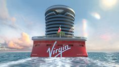 Richard Branson's First Virgin Voyages Cruise Ship, Scarlet Lady–In Pictures Cruise Travel, Cruise Vacation, Vacation Spots, Vacation Ideas, Vacations, Adult Only Cruises, Vinyl Record Shop, Pride Of America, Travel