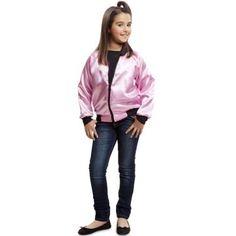 COMDisfraces de Grease · Comprar Chaqueta de pink lady 50s para niña talla  10-12 años 8a96996fc4632