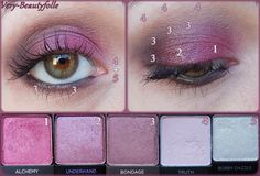 Make-Up with Vice Palettes 3 & 4 - Urban Decay.