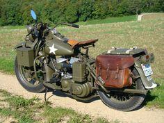 Harley WLA 750 1942