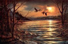Пейзаж Terry Avon Redlin