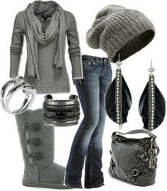 boot, fall fashions, bus, casual fall, fall outfits, winter outfits, grey, winter fashion, hat