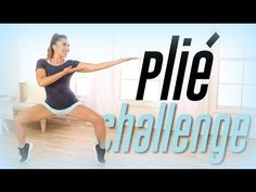 8/30/16 first 4.5 min, 9/8/16 complete Plie Squat Challenge! | Thigh Workout - YouTube