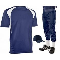 COLOR BLOCK MIX AND MATCH BASEBALL UNIFORM SET - 1033/SET
