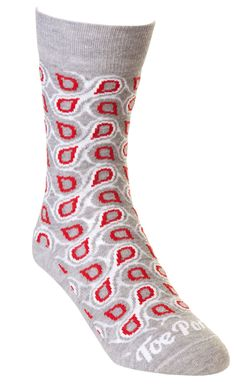 Grey Rosaline Droplet Toe Porn Socks - R80 each. View more of this bold sock collection on www.thestylista.c... @The Stylista #style #fashion #accessory #men #socks #thestylista