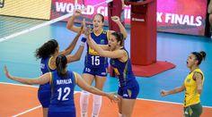 Brasil bate Itália em saideira e vai ao pódio em terceiro lugar no Grand Prix #globoesporte