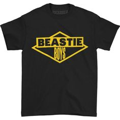Beastie Boys Diamond Logo Tee T-shirt Beastie Boys T Shirt, Metal Shirts, Diamond Logo, All Brands, Hoodies, Sweatshirts, Black N Yellow, Lp, Boy Outfits