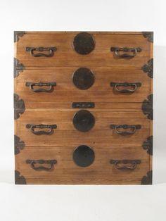 Japanese Cabinet, Indigo Antiques
