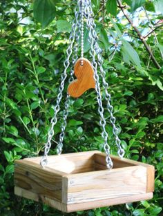 Sweet And Simple - Mini Bird Feeder Tray, Eco Friendly, Recycled, Vintage…