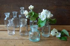 Vintage apothecary bottle Pharmacy bottle by TallinnVintage