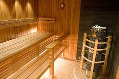 Suomen Tervaleppä - 20 years of high quality Finnish Sauna Design - Gallery Basement Sauna, Sauna Shower, Sauna Design, Finnish Sauna, Saunas, Laundry Room, Spa, Deck, Stairs